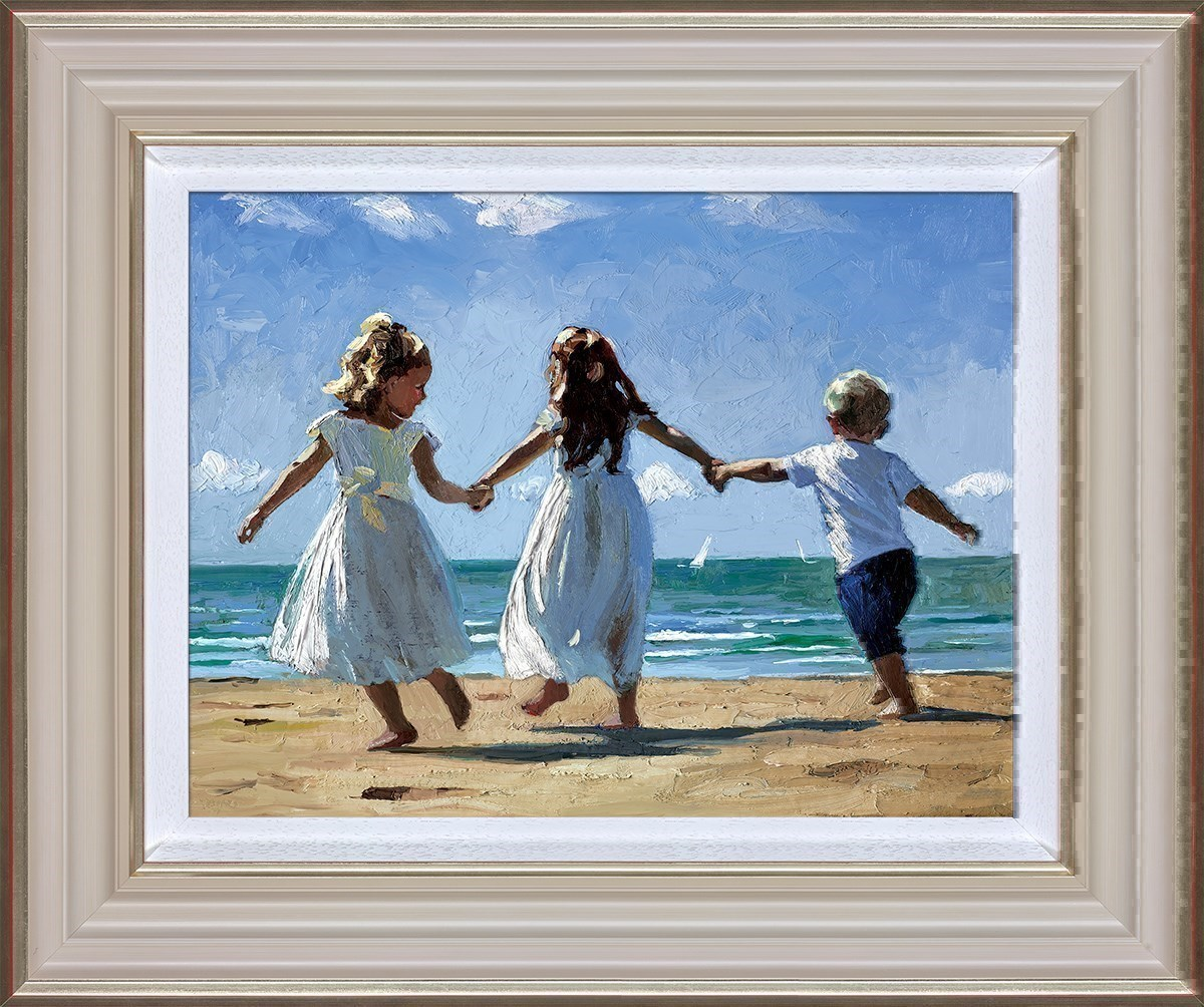 Sunkissed Memories by Sherree Valentine Daines - Canvas on Board sized 16x13 inches. Available from Whitewall Galleries